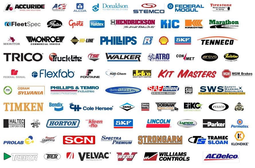 Big Rig Truck Parts Brands on Big Rig Truck Logos